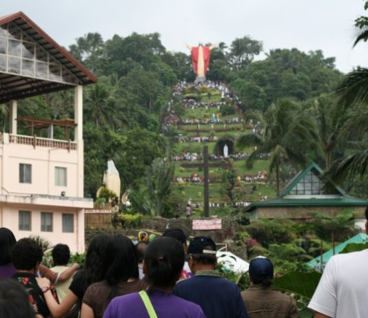 Maundy Thursday lucban quezon shrine
