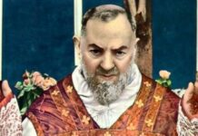 Prayer Padre Pio gave after receiving Holy Communion